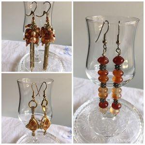 Jewelry - B10. 3 sets of beautiful earrings.